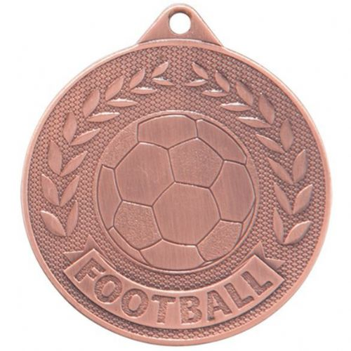 Discovery Football Medal Bronze 50mm